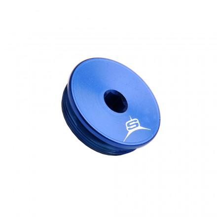 Bouchon Carter Allumage SHERCO Anodisé Bleu Enduro Box