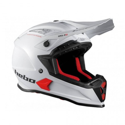 Casque HEBO Stage II Blanc Enduro Box