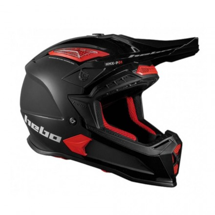 Casque HEBO Stage II Noir Enduro Box
