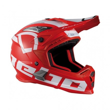 Casque HEBO Factor Rouge Enduro Box