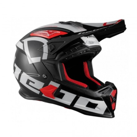 Casque HEBO Factor Noir Enduro Box