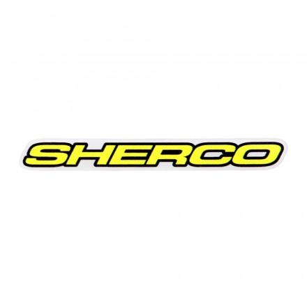 Autocollant SHERCO 50cm Blanc Enduro Box