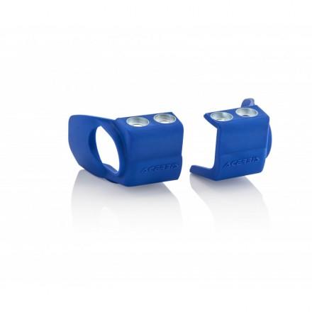 Protections de Pieds de Fourche ACERBIS Kayaba Bleues Enduro Box