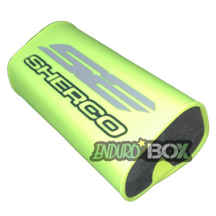 Mousse de Guidon SHERCO Factory Jaune Fluo Enduro Box