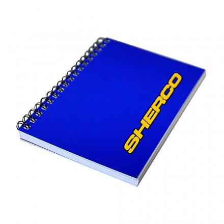 Carnet Spirales A5 Bleu SHERCO Enduro Box