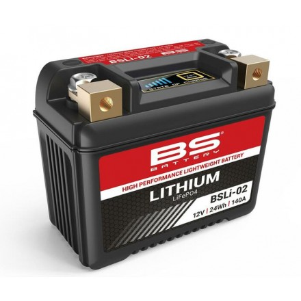 Batterie BS BATTERY Lithium-Ion - BSLI-02 Enduro Box
