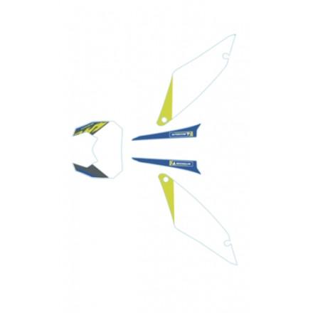 Kit Deco Fonds de Plaques SHERCO 2022 Enduro Box
