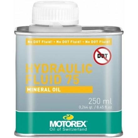 Huile Mineral 250mL MOTOREX Hydraulic Fluid 75 Enduro Box