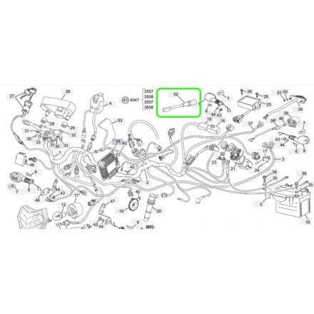 Cable Compteur de Vitesse SHERCO 2.5i/3.0i 12-13 Enduro Box
