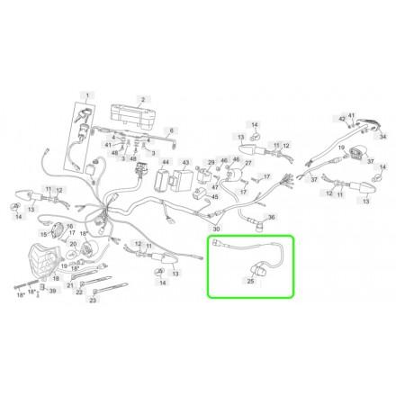 Cable Compteur de Vitesse SHERCO 07-13 Enduro Box