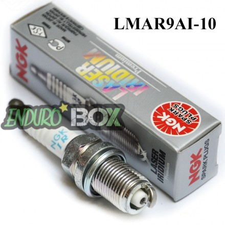 Bougie NGK Laser Iridium LMAR9AI-10 Enduro Box