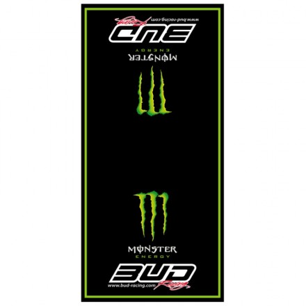 Tapis de sol Team BUD RACING Monster Réplica Enduro Box