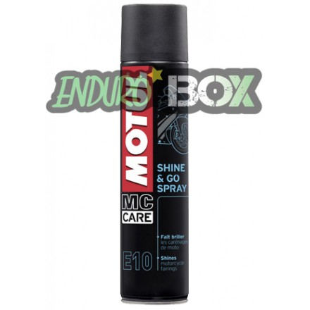 Shine and Go Spray MOTUL Enduro Box