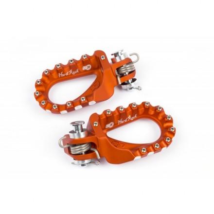 Repose Pieds S3 HardRock Aluminium Orange Enduro Box