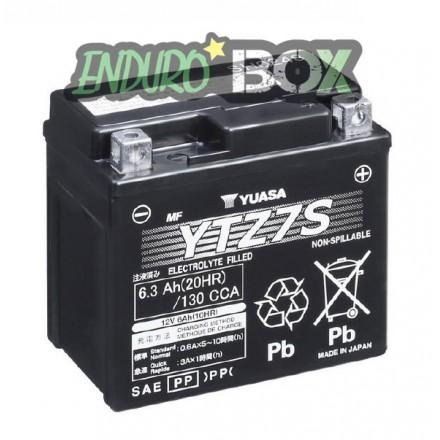 Batterie YUASA YTZ7S Enduro Box