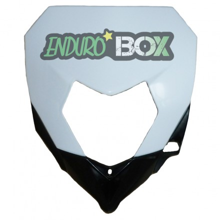 Plaque Phare SHERCO Blanche Enduro Box